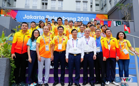 Bộ trưởng Bộ VHTT&DL Nguyễn Ngọc Thiện gửi lời động viên tới các VĐV dự ASIAD 2018
