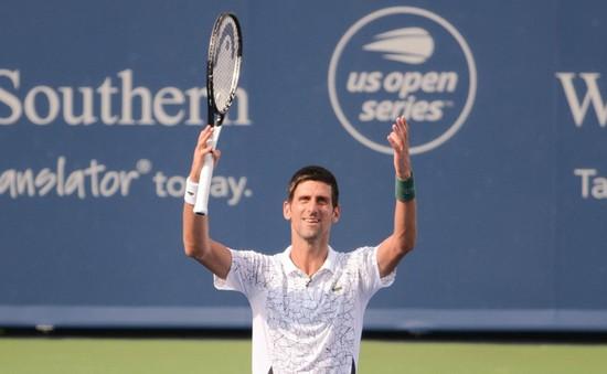 Novak Djokovic lần thứ 6 vào chung kết Cincinnati mở rộng
