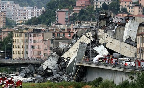Italy có thể xây cầu thép mới thay cầu Morandi bị sập