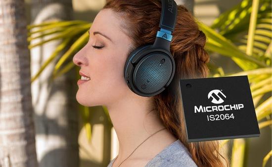 """Microchip trình làng giải pháp giúp tai nghe không dây trở nên """"mượt mà"""" hơn"""