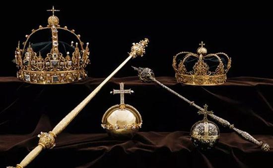 Vương miện hoàng gia Thụy Điển bị đánh cắp