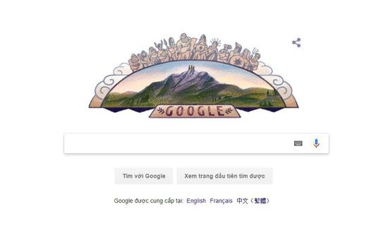 Google thay ảnh đại diện, tôn vinh đỉnh Olympus