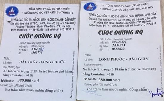 Xuất hiện vé giả tuyến TP.HCM - Long Thành - Dầu Giây