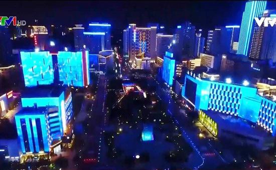 Lễ hội ánh sáng đầy màu sắc ở thành phố Tây An, Trung Quốc
