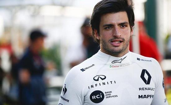 Đua xe F1: Carlos Sainz Jr chuyển sang McLaren vào mùa giải 2019