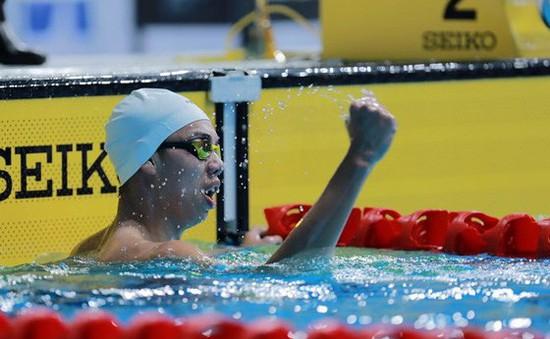 Nguyễn Huy Hoàng giành HCĐ 800m bơi tự do nam