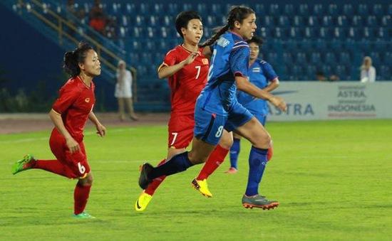ĐT bóng đá nữ Thái Lan vẫn đi tiếp dù toàn thua vòng bảng