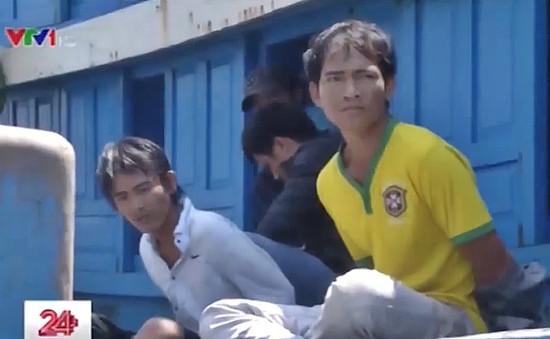 Hàng loạt lao động bị cưỡng bức trên các tàu cá đánh bắt xa bờ