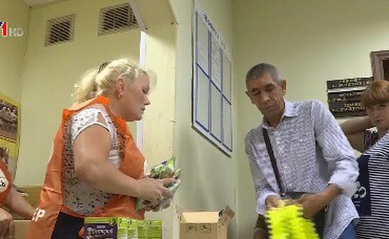 Ngân hàng thực phẩm hỗ trợ người nghèo ở Nga