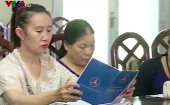 Nhiều người mất tiền do góp vốn đầu tư đa cấp vào công ty Thái Tuấn