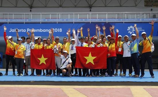"""VĐV Rowing giành HCV ASIAD: """"Hạnh phúc khi được hát Quốc ca tại đấu trường ASIAD"""""""