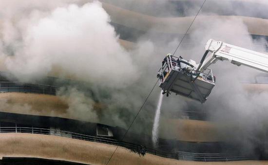 Cháy chung cư ở Ấn Độ, ít nhất 20 người thương vong