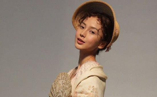 Angelababy khác lạ với phong cách quý cô cổ điển