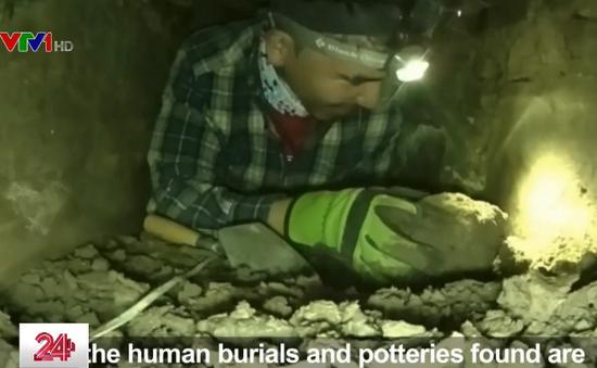 Robot giúp phát hiện kho báu dưới lòng đất ở Peru