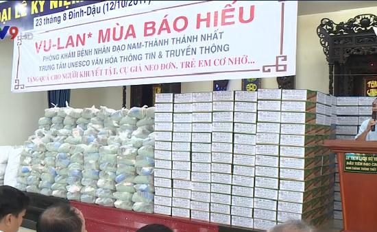Hơn 500 phần quà dành cho người nghèo vào mùa Vu lan