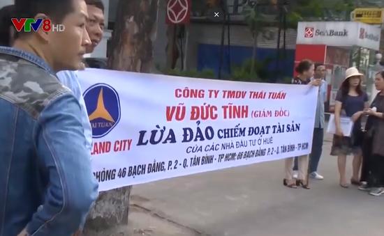 Tiêu điểm: Công ty đa cấp Thái Tuấn - Dự án ảo, nạn nhân thật