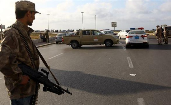 Tấn công vào trạm kiểm soát tại Libya, ít nhất 4 binh sĩ thiệt mạng