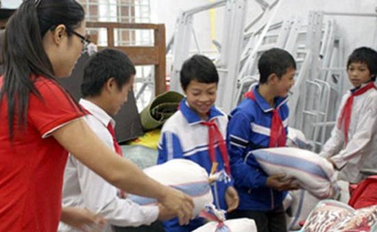 Hơn 500.000 học sinh nghèo được hỗ trợ gạo