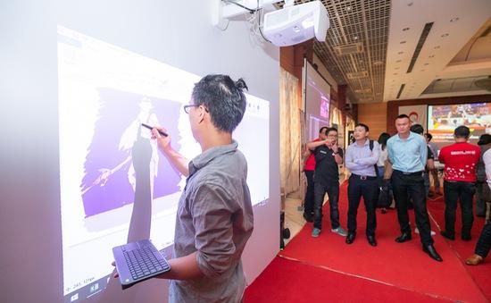 Trình diễn những máy chiếu đỉnh nhất tại Hà Nội