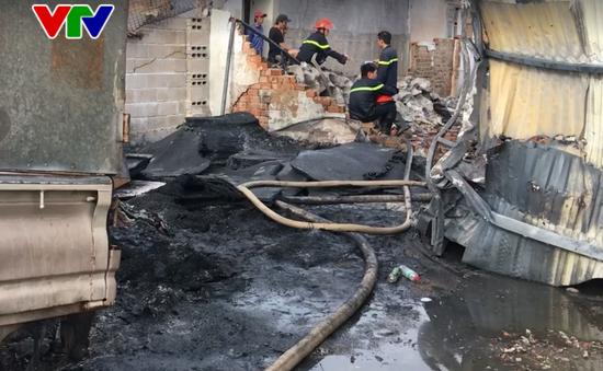 Lại cháy vựa phế liệu tại Khánh Hòa