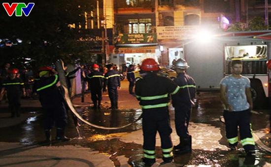 [VIDEO] Kịp thời dập tắt đám cháy tại Bệnh viện Đà Nẵng