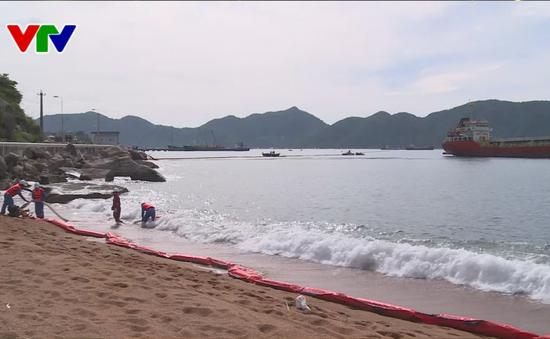 Phú Yên: Diễn tập ứng phó sự cố tràn dầu cấp tỉnh