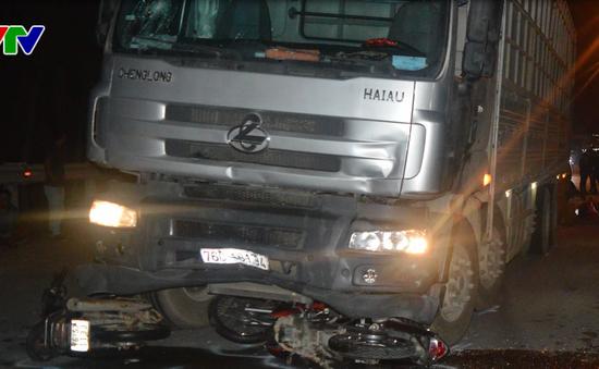 Quảng Ngãi: Tạm giữ tài xế cán 7 người thương vong