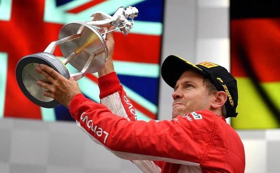 Đua xe F1: Sebastian Vettel giành chiến thắng tại Grand Prix Bỉ