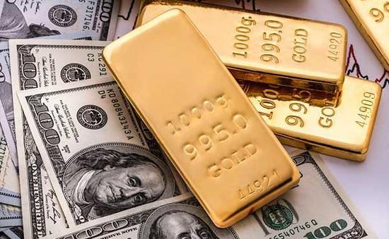 Vàng miếng và USD tự do cùng giảm giá