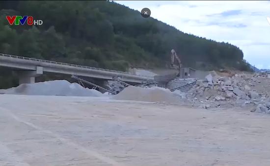 Bất cập xử lý các bãi thải tại công trình giao thông La Sơn – Túy Loan