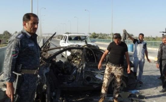 IS tuyên bố đánh bom xe liều chết ở miền Tây Iraq