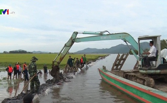 Nguy cơ mất an toàn của hệ thống đê điều ở Việt Nam trước lũ, bão