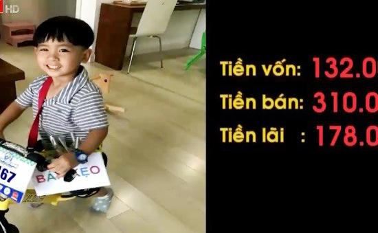 """Câu chuyện khởi nghiệp của """"doanh nhân"""" 4 tuổi tại Hà Nội"""