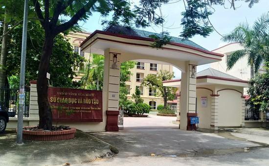 Khởi tố vụ án gian lận điểm thi THPT Quốc gia ở Hoà Bình