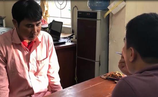 Quảng Ngãi: Bắt kẻ giả danh cảnh sát kinh tế lừa lấy tiền nhiều người