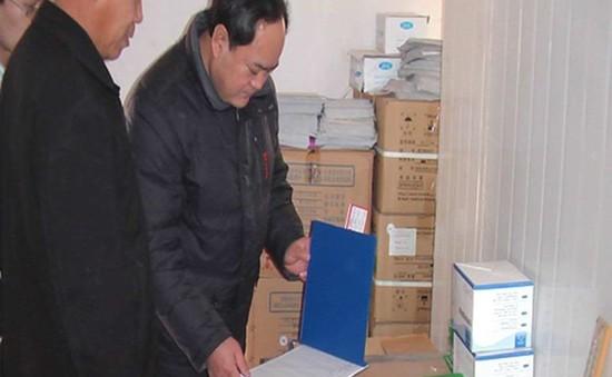 Quan chức Trung Quốc tự sát sau bê bối vaccine giả