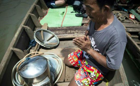 Thái Lan: Đi tìm kho báu dưới đáy sông