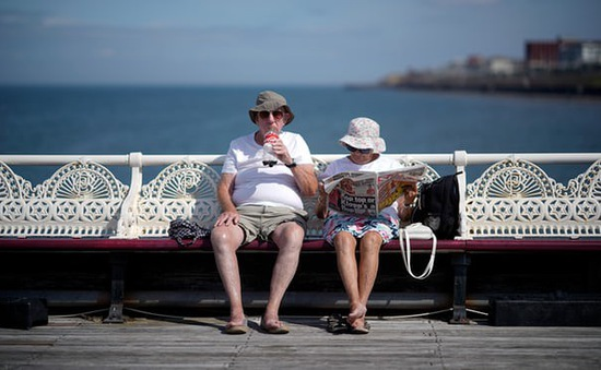 Gần 700 người tử vong do nắng nóng ở Anh