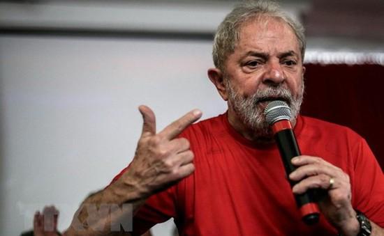 Đảng Lao động Brazil đề cử ông Lula da Silva tranh cử Tổng thống