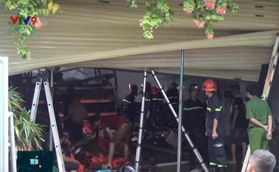 Cháy lớn ở công ty phụ tùng xe máy, nhiều tại sản bị thiêu rụi