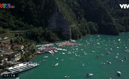Cuộc thi nhảy cầu mạo hiểm tại Thụy Sỹ