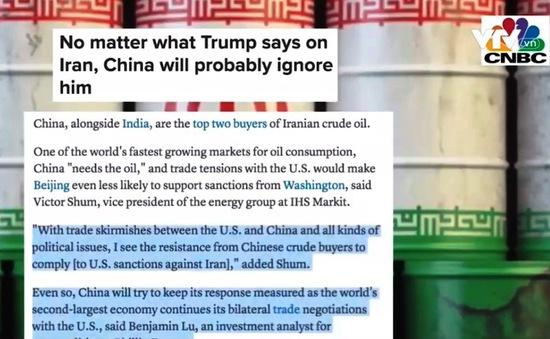 Mỹ trừng phạt Iran và ảnh hưởng tới kinh tế thế giới
