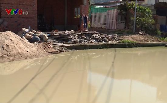 Dai dẳng nước đọng trên đường tại thành phố Nha Trang