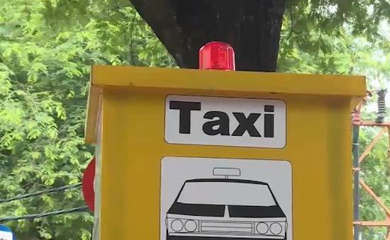 Bắt đầu thí điểm các điểm đón taxi tại TP.HCM