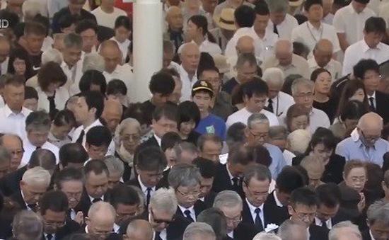 Nhật Bản tưởng niệm 73 năm thảm họa bom nguyên tử tại thành phố Nagasaki