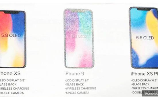"""Apple """"chốt"""" tên thiết bị mới: iPhone XS, iPhone XS Plus và iPhone 9?"""