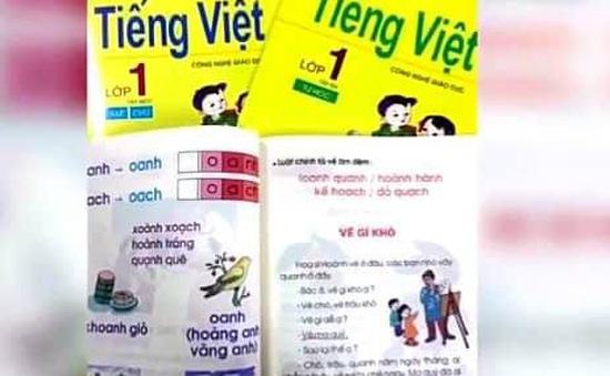 Sách Tiếng Việt lớp 1 Công nghệ giáo dục cần được đánh giá lại