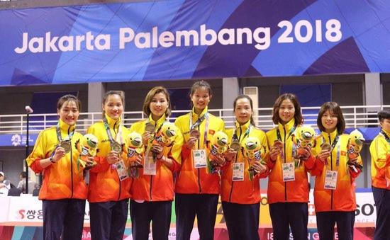 ĐT Cầu mây nữ Việt Nam giành HCB tại ASIAD 2018
