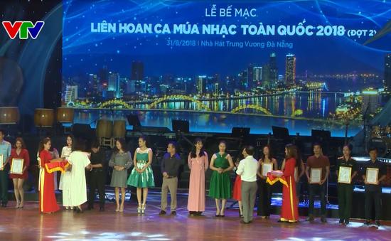 Bế mạc liên hoan ca, múa, nhạc toàn quốc tại Đà Nẵng