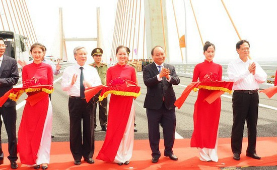 Khánh thành cao tốc Hạ Long – Hải Phòng và thông xe cầu Bạch Đằng